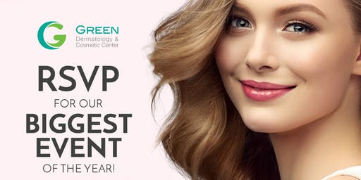 Green Dermatology   Join Our Biggest Event of the Year