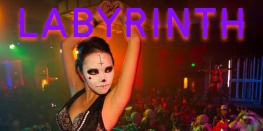 CLUB LABYRINTH LA * HALLOWEEN PARTY * HOLLYWOOD* OCT 31 * COUPLES & SINGLES