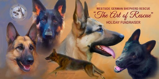 Westside German Shepherd Rescue Holiday Fundraiser
