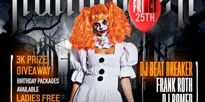 Halloween weekend Kick-off @barCode