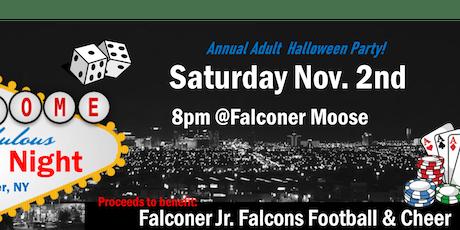 Adult Halloween Party ~ Casino Night tickets