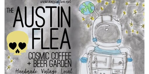 The Austin Flea at Cosmic Coffee in November