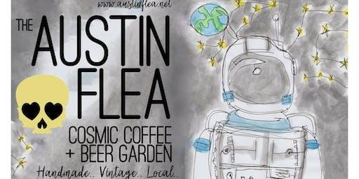 The Austin Flea at Cosmic Coffee in November
