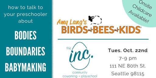 Amy Lang's Birds & Bees & Preschoolers!