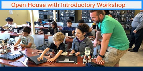 Open House (Robotic, Video Game Design & S.T.E.M.) by Techno Inventors tickets