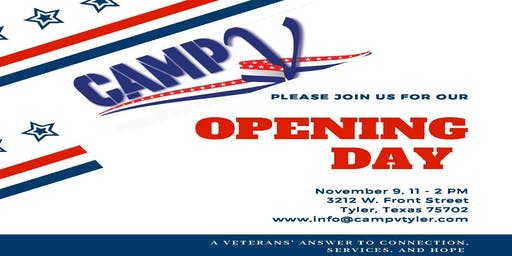 CampV Opening Day Celebration | Veterans ~ Military Families ~ Community