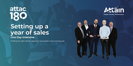 Setting up a great year of sales - Auckland tickets