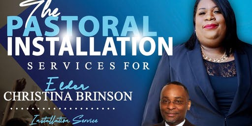 Installation Service for Pastor- Elect Christina Brinson