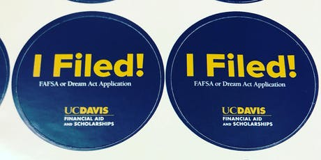 FAFSA/Dream Act Application Pop-Up Nights tickets