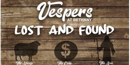 Lost & Found Vespers