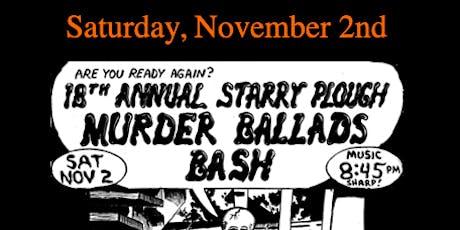 Murder Ballads @ The Starry Plough Pub tickets