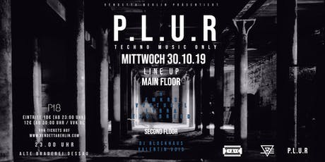 P.L.U.R Tickets