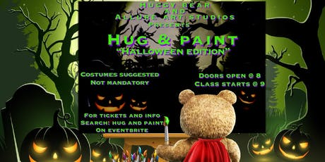 "Hug and Paint ""Halloween Edition"" tickets"