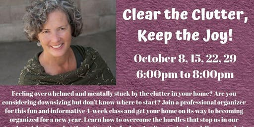 Clear the Clutter, Keep the Joy with Val Cady