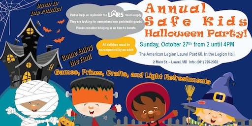 Annual Children's Halloween Party