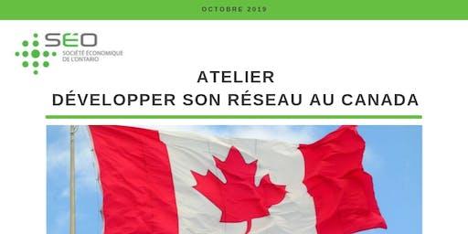 Développer son réseau au Canada