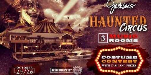 The Haunted Circus Is Coming Halloween 2019 Jackson's Nightlife