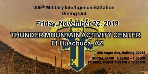 309th MI BN Dining Out