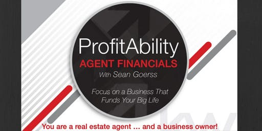 ProfitAbility - Agent Financials with Sean Goerss