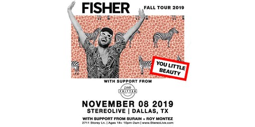 Fisher: You Little Beauty Tour - Stereo Live Dallas