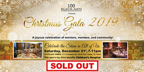 100 Black Men Greater Dallas/Ft. Worth Inc.  Christmas Gala 2019 tickets