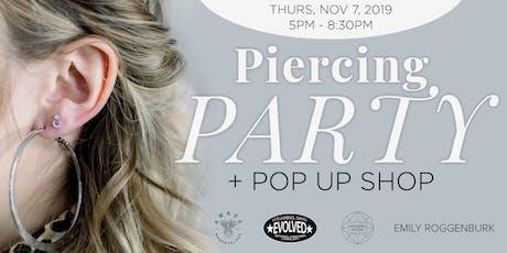 Modern Mood Piercing Party + Pop Up Shop tickets