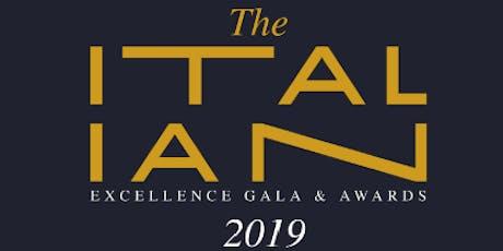ITALIAN EXCELLENCE GALA & AWARDS 2019 tickets