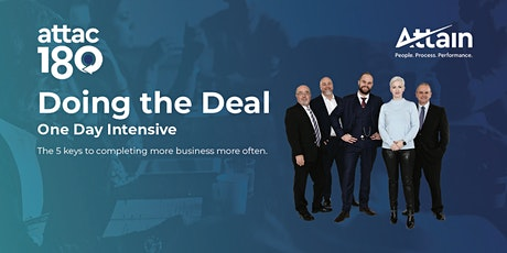 Doing the Deal - Auckland tickets