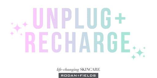 UNPLUG + RECHARGE POP UP EVENT