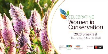 Women in Conservation Breakfast 2020 tickets