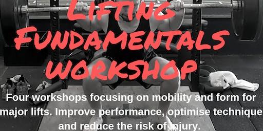 Squat- Lifting Fundamentals Workshop