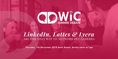 WIC Dinner Debate 2019 tickets