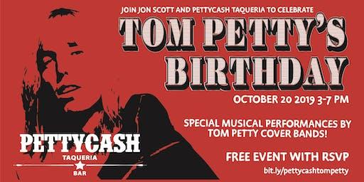 Tom Petty's Birthday Celebration at Petty Cash Taqueria & Bar