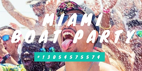 Booze Cruise Miami Party boat tickets