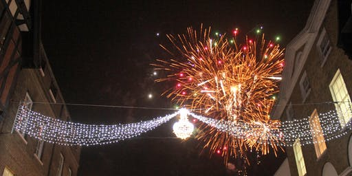 Christmas Lights Switch On for International Stude