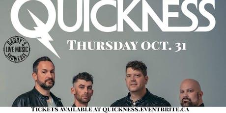 Quickness - Gabby's Live Music Showcase tickets