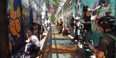 Documentary Film of Graffiti Alley in Cambridge Screening & Discussion