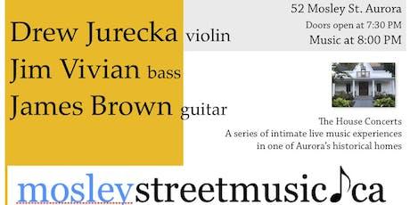 Concert VI: Jurecka, Vivian, Brown tickets