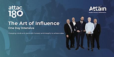 The Art of Influence - Hamilton tickets