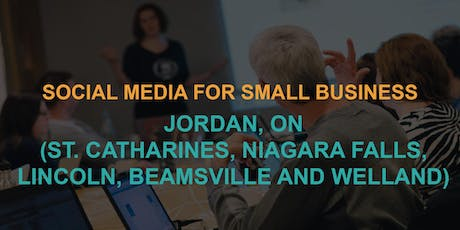 Social Media for Small Business: Jordan Workshop tickets