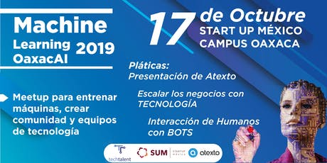 Meetup Machine Learning OaxacAI boletos