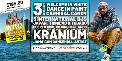 Caribbean Riddim Weekend ft. Kranium Live! Sydney's ultimate party weekend!