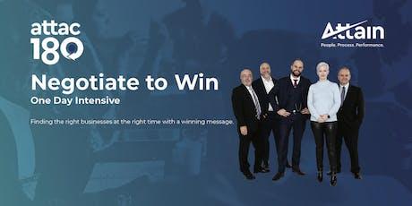 Negotiate to Win - Hamilton tickets