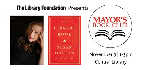 Mayor's Book Club: The Library Book with Susan Orlean tickets