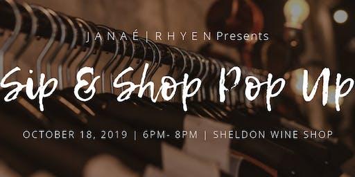 Sip & Shop Pop~Up