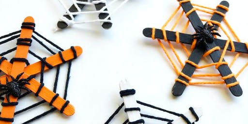NORTHSIDE Happy Hour Craft: Glow in the Dark Spider Webs (Ages 3 & up)