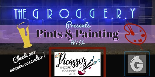 Pints & Painting at The Groggery