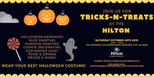 Tricks-N-Treats at the Hilton