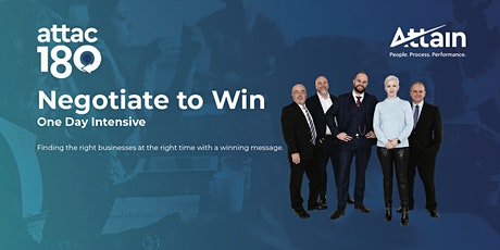 Negotiate to Win - Auckland tickets