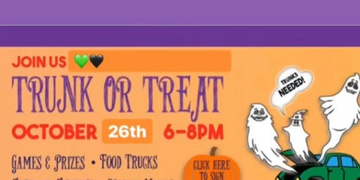 Free - 2nd Annual Trunk or Treat